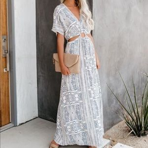 VICI cutout maxi dress